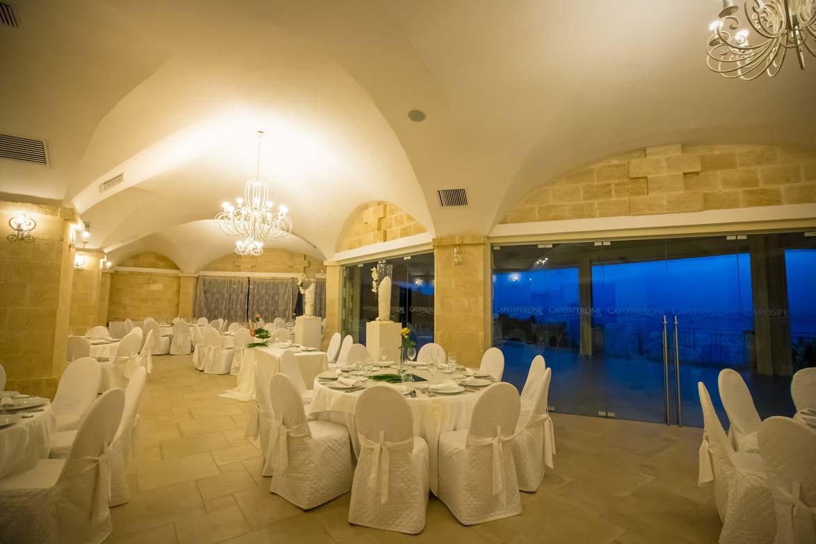 sala leonardo per il pranzo o la cena del tuo matrimonio