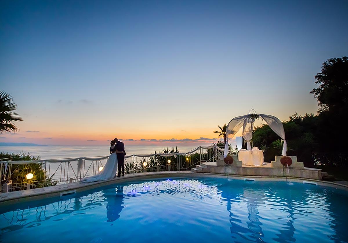 piscina caposperone resort