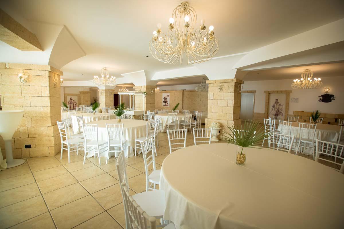 sala templari caposperone resort: la parte interne dei buffet